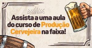 Aula gratuita de Produção Cervejeira