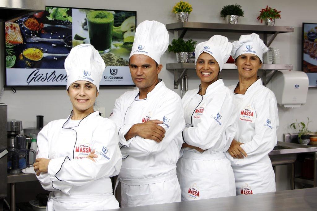Equipe Açaí: Edivam Gomes (Belém-PA), Wiviane Machado (Águas Lindas de Goiás-GO), Iza Reis (Campo Grande-MS) e Fabiana Santos (Piúma-ES)