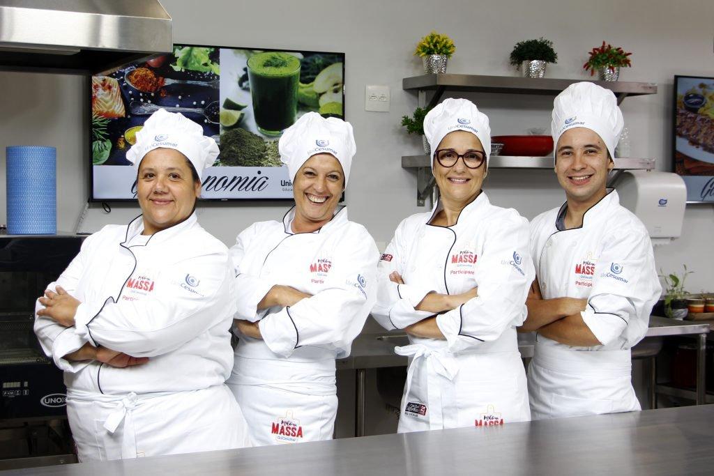 Equipe Alecrim: Suzana Flor (Tramandaí-RS), Viviane Costa (São Paulo-SP), Claudia Passarellii (Itajubá-MG) e Mateus Corete (Maringá-PR)