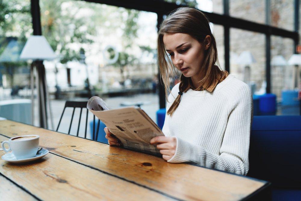 A leitura é importante para o estudo de atualidades para o Enem