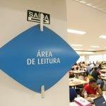 Área de Leitura da Biblioteca Central