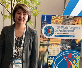 World Congress on Public Health, abril/2017, Melbourne/Austrália