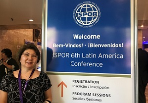 Internacional Society for Pharmacoeconomis and Outcomes Research – ISPOR, setembro/2017, São Paulo/SP