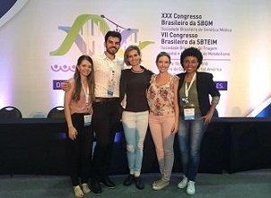 XXX Congresso Brasileiro de Genética Médica, Rio de Janeiro/RJ, maio/2018.