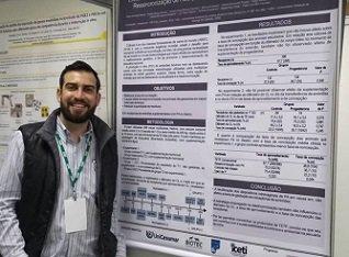 Acadêmico de Medicina Veterinária Rafael Ricci Mota participou da XXXII Reunião Anual da Sociedade Brasileira de Tecnologia de Embriões, Florianópolis/SC, Agosto/2018