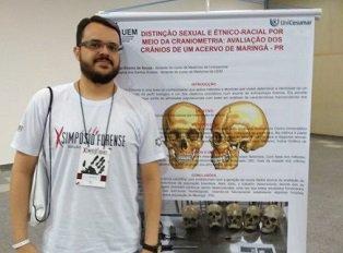 Prof. Msc. Vitor de Souza participa do X Simpósio  Forense do IPEBJ e do FSI Brasil, em Ribeirão Preto,(Set/2018)