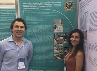 Professores Marcos Bitencourt e Mariá Romanio apresentam 4 trabalhos científicos no ABRAMEDE, em Fortaleza.(Set/2018)