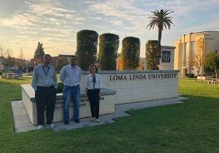 Professores do Mestrado em Promoção da Saúde visitam a Universidade de Loma Linda, na Califórnia, (Nov/2018)
