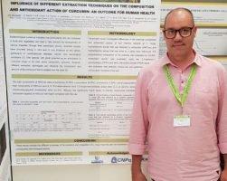 Professor Dr. José Eduardo Gonçalves, dos mestrados em Tecnologias Limpas e Segurança Alimentar, participa do Natural Products in Drug Discovery and Human Health, em Portugal
