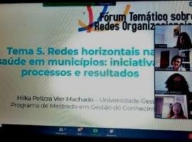 """Professores dos Mestrados no  """"V Fórum Temático sobre Redes Interorganizacionais"""""""