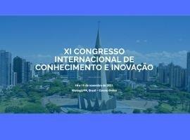 UniCesumar sediará o Congresso Internacional de Conhecimento e Inovação (CIKI), nos dias 18 e 19 de novembro de 2021.