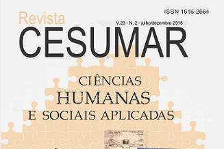 Revista Cesumar Ciências Humanas e Sociais Aplicadas está disponível para acesso
