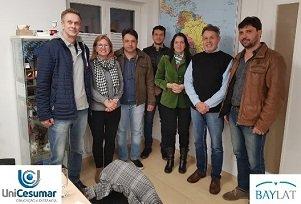 Docentes dos Mestrados da UniCesumar visitam universidades parceiras na Alemanha (Dez/2018)
