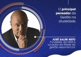 Especialista em gestão contemporânea, José Salibi Neto ministrará palestra na UniCesumar