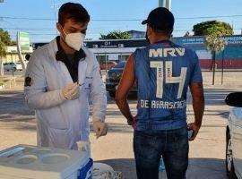 Alunos do curso de Medicina da  UniCesumar de Corumbá (MS) entraram na campanha de vacinação contra a COVID-19
