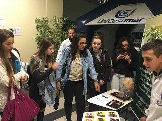 Alunos de Enfermagem da UniCesumar participaram de ação contra o tabagismo