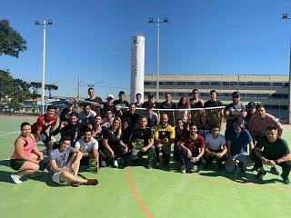 Alunos de Educação Física de Curitiba participam de capacitação sobre Futsac