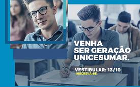 UniCesumar abre inscrições para Vestibular de Verão