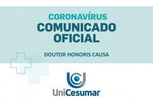 Nota Oficial | Entrega do Doutor Honoris Causa a Sérgio Moro