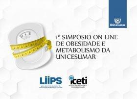 Evento gratuito: UniCesumar promoverá o 1º Simpósio On-line de Obesidade e Metabolismo