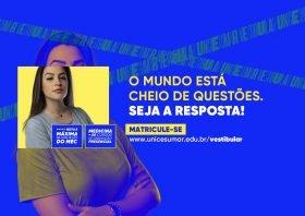 """""""Seja a resposta"""": com campanha provocativa, UniCesumar inicia processo de vestibular para 2021"""