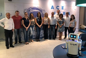Mestrandos da UniCesumar visitam ecossistema de inovação