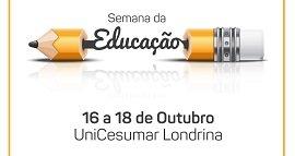 Semana Acadêmica de Educação é promovida pela UniCesumar de Londrina