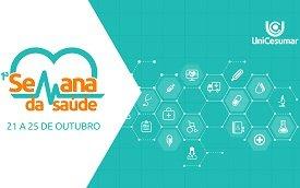 Semana de Saúde reunirá referências da área na UniCesumar de Londrina