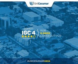 IGC 4 confirma a qualidade de ensino da Unicesumar