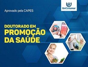UniCesumar recebe aprovação para o Doutorado em Promoção da Saúde