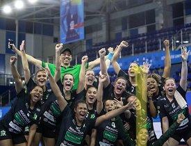 Time de handebol feminino da UniCesumar é campeão nos Jogos Universitários Brasileiros 2019
