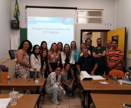 Professora da Unesp participa de aula de mestrado na Unicesumar
