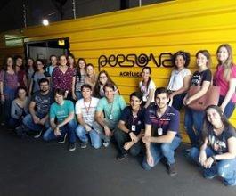 Unicesumar Empresarial realiza visita técnica na Incubadora Tecnológica de Maringá