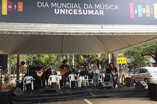 Unicesumar promove apresentações no Dia Mundial da Música