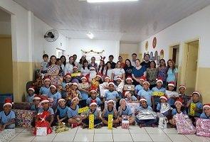 Unicesumar Empresarial realiza atividade social em Sarandi