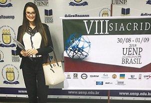 Mestrandas em Ciências Jurídicas da UniCesumar participaram de Simpósio Internacional