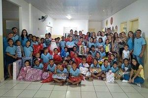 Consultorias Jrs da UniCesumar realizam ação social no Lar Esperança de Sarandi