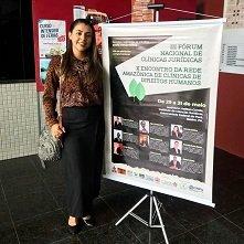Mestranda em Ciências Jurídicas do UniCesumar participa de importante evento nacional