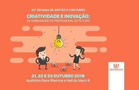 Inovação e criatividade compõem cronograma da Semana de Gestão e Contábeis da UniCesumar