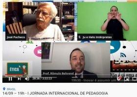 1º Jornada Internacional de Pedagogia reúne profissionais de referência em evento on-line da UniCesumar