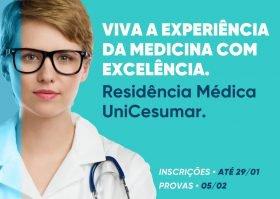 Cancerologia Cirúrgica e Coloproctologia: UniCesumar está com inscrições abertas para residência médica