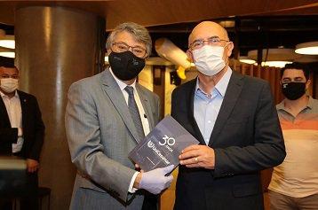 UniCesumar recebe a visita do ministro da Educação, Milton Ribeiro