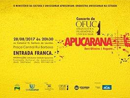Concerto da OFUC em Apucarana