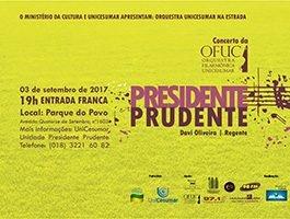 Concerto OFUC em Presidente Prudente