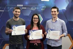Leandro Naldei, Yasminn Zagonel e Daniel Hey foram finalistas na categoria Games