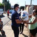 Doação de cestas básicas em Maringá