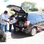Doação de cestas básicas em Londrina