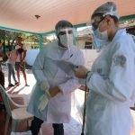 Testagens de Covid-19 em bairros de Maringá