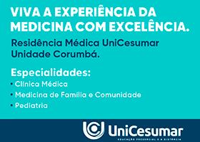 Residência Médica em Corumbá: UniCesumar abre inscrições para especializações