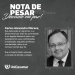 NOTA DE PESAR PROF CARLOS ALEXANDRE MORAES